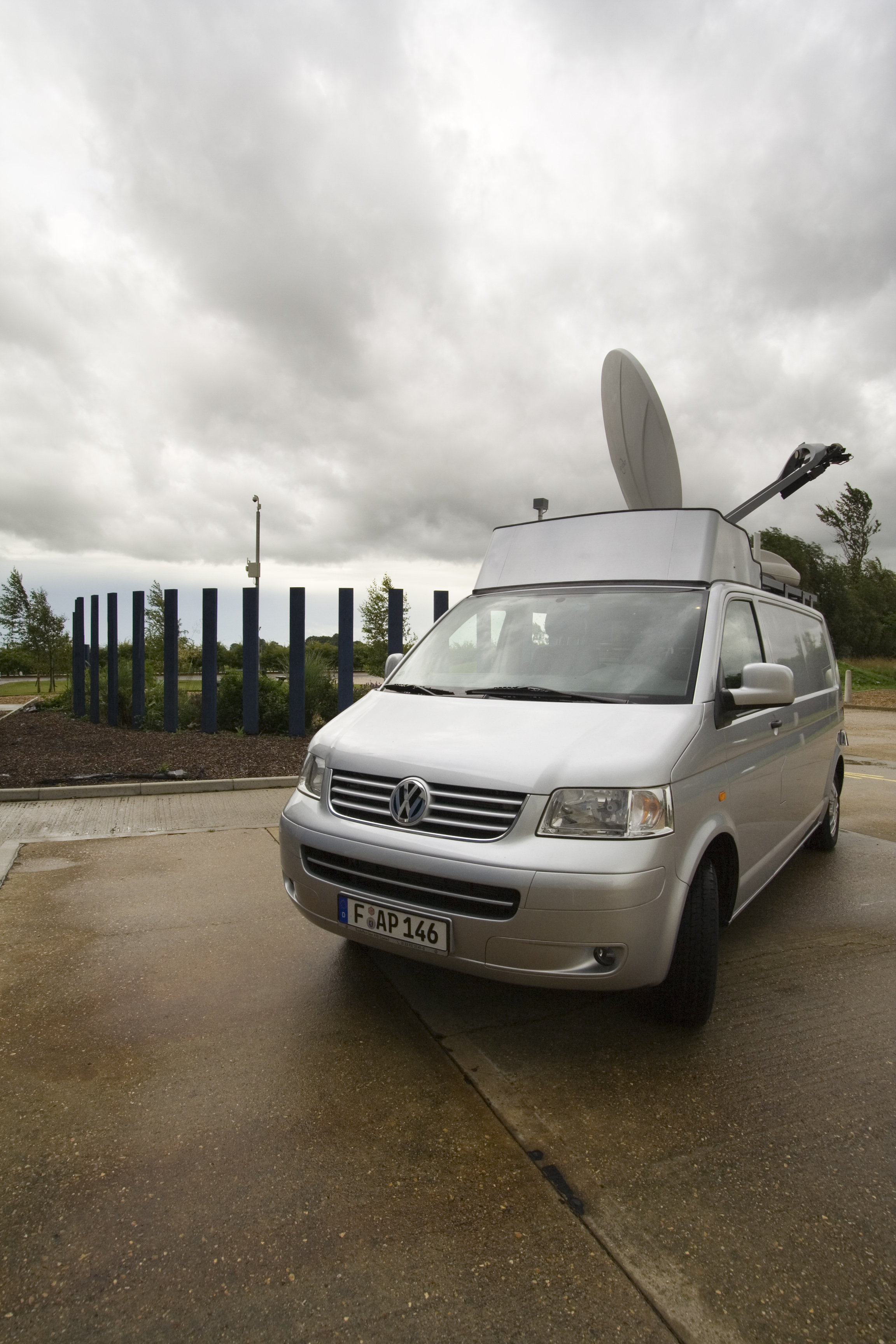 OB Truck Photos 3.jpg - Outside Broadcast Vehicle, Ely, Cambridgeshire, UK, July 2008