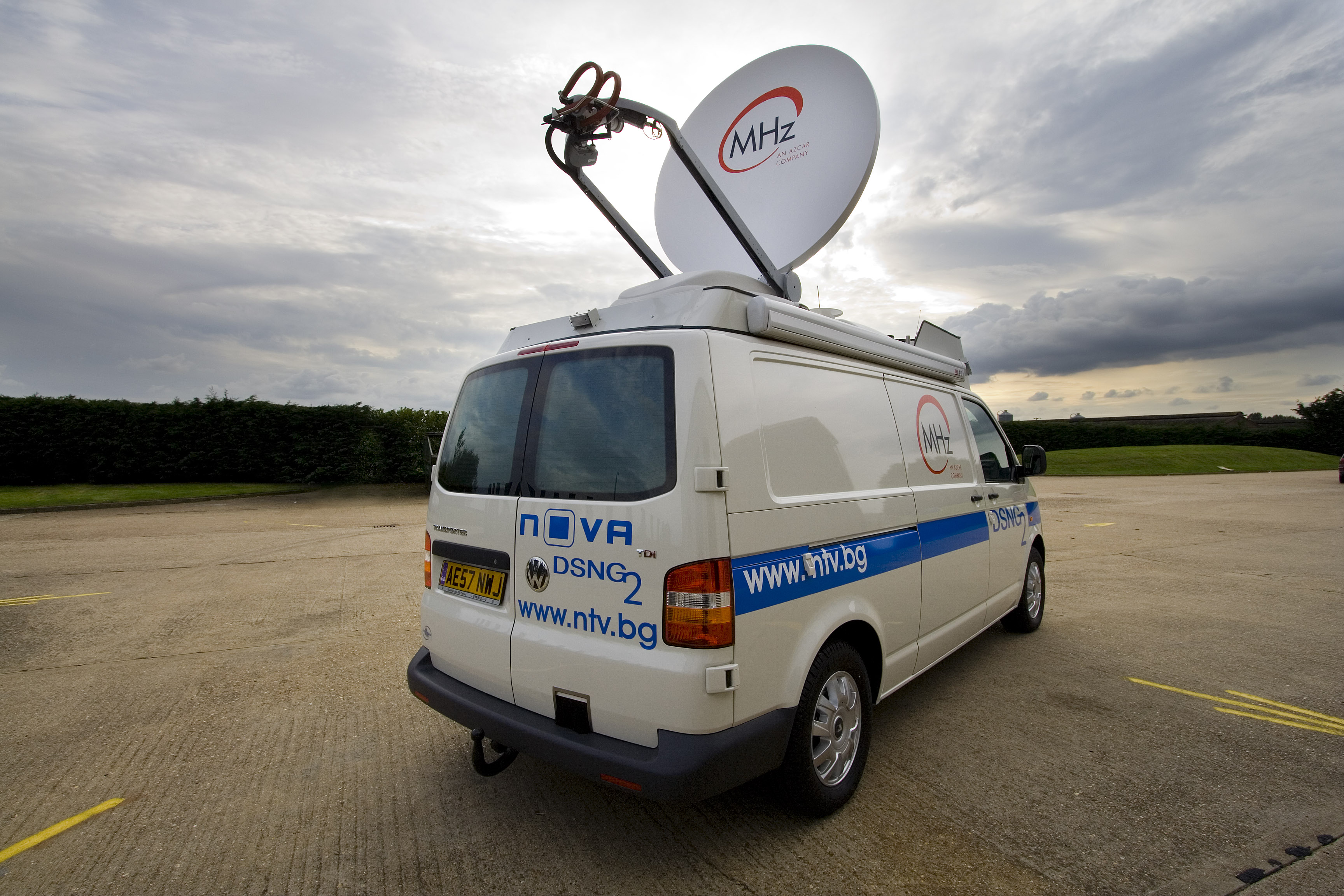 OB Truck Photos 8.jpg - Outside Broadcast Vehicle, Ely, Cambridgeshire, UK, September 2008